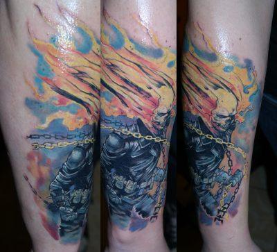 Tattoos by Adam   Nail's Tattoo